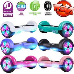 6.5'' LED Wheels Hoverboard Electric Self Balancing Scooter