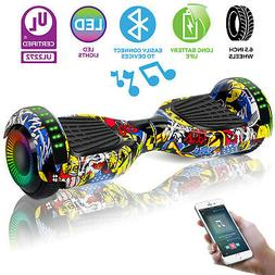 "6.5"" Off Road Hoverboard Electric Self Balance Scooter LED S"