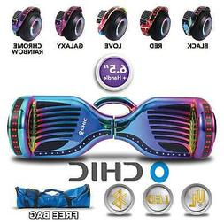 """6.5"""" 2 Wheel Self Balancing Hoverboard with Bluetooth Speake"""