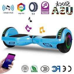 """6.5"""" Self Balancing Hoverboard Bluetooth LED Scooter UL Boys"""