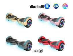 """NHT 6.5"""" Self-Balancing Hoverboard Sidelights LED Bluetooth"""