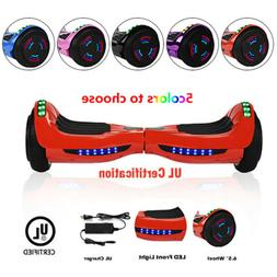 """6.5"""" Self Balancing Wheel Electric Scooter Hoverboard Blueto"""