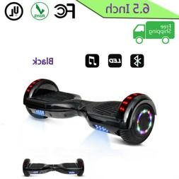 New 6.5 skate boards Electric Self Balancing Scooter 2 LED F