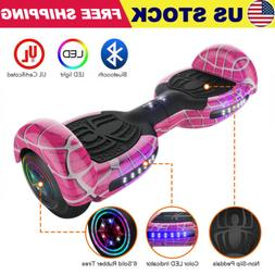 """6.5"""" Spider LED Hoverboard Electric Self Balance Bluetooth S"""