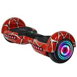 "6.5"" Spider Self Balancing Scooter | RGB Balance Board Bluet"