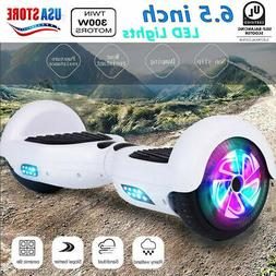 6 5 white hoverheart ul2272 chrome hoverboard