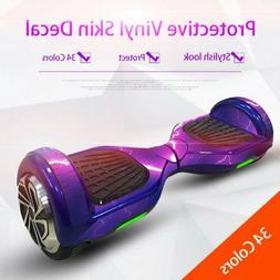 6.5inch Protective Vinyl Skin Decal For Self Balancing Board