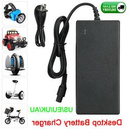 63V Battery Charger Power Supply Adapter for Scooter Hoverbo