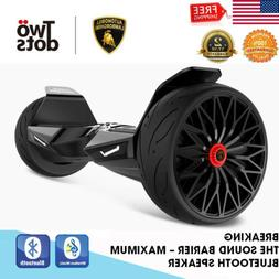 """8.5"""" 2 Wheel Off Road Electric Self Balancing Scoote LED Sid"""