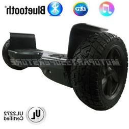 "8.5"" All-Terrain Off Road Hoverboard Bluetooth Self Balancin"