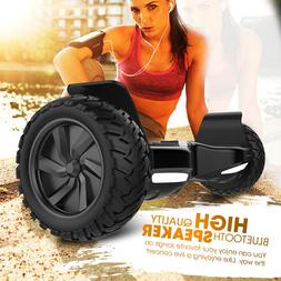"8.5"" Electric Bluetooth Speaker Scooter Offroad Tire Dual Mo"