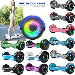 6.5/8.5'' Hummer Bluetooth Hoverboard LED Hoover Board Chrom