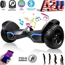 8.5'' Hummer Hoverboard All-Terrain Self Balance Scooter UL