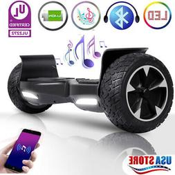 """8.5"""" Off Road Bluetooth Hoverboard Self-Balancing Scooter no"""