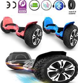8.5'' Wheel All-Terrain Bluetooth Hoverboard Self Balancing