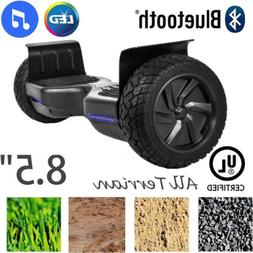 "8.5"" Wheels Off Road Bluetooth Electric Self Balancing Scoot"