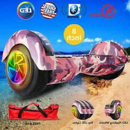 """8"""" UL 2272 Certified Safe Self Balancing Hoverboard with Blu"""
