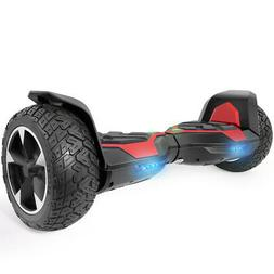 XtremepowerUS All Terrain 8.5 Inch Off-Road Self-Balancing H