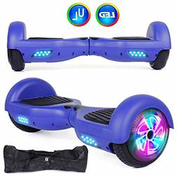AWESOME Fun Felimoda Hoverboard with LED Light Wheels and Ca
