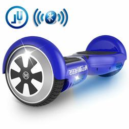 Megawheels Balancing Scooter w/Bluetooth Speaker,LED Light -