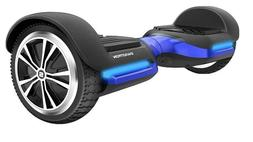 Blue Swagtron Bluetooth Smart Self Balancing Wheel w/ Speake