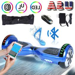 """Bluetooth Hoverboard 6.5"""" Self Balancing Electric Scooter Wi"""