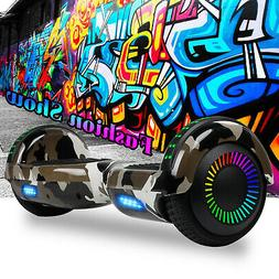 Bluetooth Hoverboard LED Electric Balancing Scooter UL2272 C