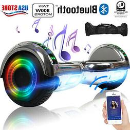 Bluetooth Hoverboard LED Electric Self Balancing Scooter UL2