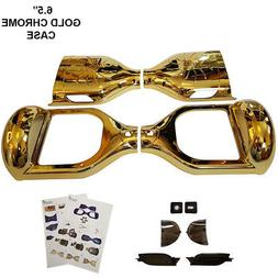 "CHROME GOLD 6.5"" Plastic Shell for Hoverboard Parts Sweg Cas"