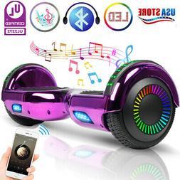 E Hoverboard Bluetooth Speaker Flash LED no Bag Smart Scoote