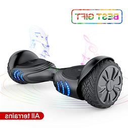 TOMOLOO Electric Self Balancing Scooter for Kids and Adults,