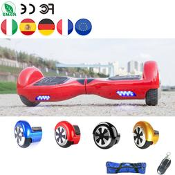 Europe Stocks 6.5 Inch Hoverboard Electric Scooter <font><b>