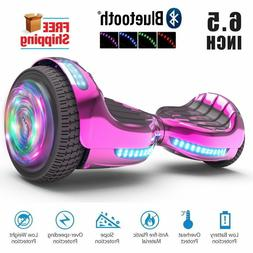 "Flash Wheel UL2272 Certified Bluetooth Hoverboard 6.5"" Self"