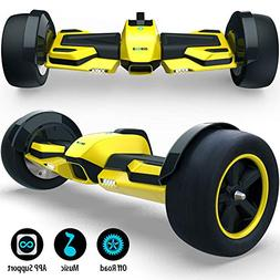 Gyroor G-F1 Fastest Racing Hoverboard with Music Speaker and