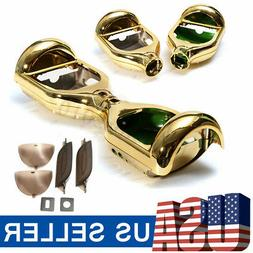 Gold Shell Outer Kit Cover For 6.5'' 2 Wheels Self Balancing