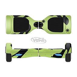The Green & Black High-Heel Pattern V12 Full-Body Wrap Skin