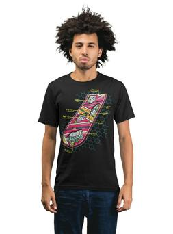 Hover Board Blueprint Back To The Future Adults Unisex T-Shi