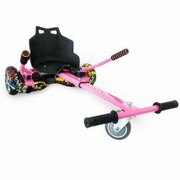 """Hover Kart Go Kart Adjustable Attachment for 6.5"""" Hoverboard"""