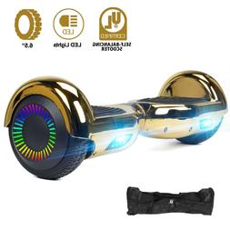 "Hoverboard 6.5"" Electric Scooter LED Lights UL2722 Certified"