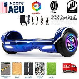 Hoverboard 6.5'' LED Lights UL2272 Self Balancing Scooter Fo