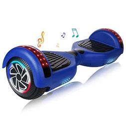 Keepower Hoverboard with Bluetooth Speaker and LED Banner Fl