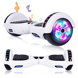 jolege Hoverboard Bluetooth 6.5 inch Self Balancing Hoverboa