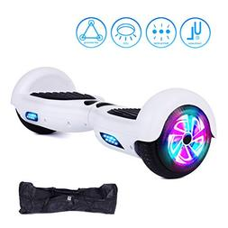 "YHR Hoverboard Flashing Wheel Hover Board 6.5"" Self Balancin"