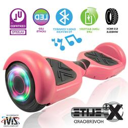 Hoverboard Self Balancing Electric Scooter Bluetooth LED X1