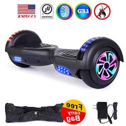 "Felimoda 6.5"" Hoverboard Self Balancing Scooter with Colorfu"
