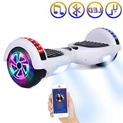 "SISIGAD Hoverboard Self Balancing Scooter 6.5"" Two-Wheel Sel"