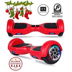 "SENGYUE Hoverboard, Two 6.5"" Wheels Self-Balancing Electric"