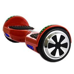 WorryFree Gadgets Hoverboard Two Wheel Self-Balancing Scoote