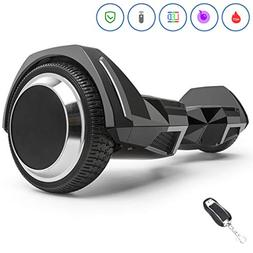 Spadger Hoverboard with BLE Speaker & LED Light, UL 2272 Cer