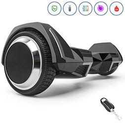 Spadger Hoverboard with BLE Speaker & LED Light, UL 2272 Cer